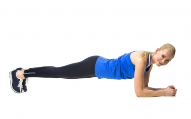 Personal Trainer Exeter Female Plank